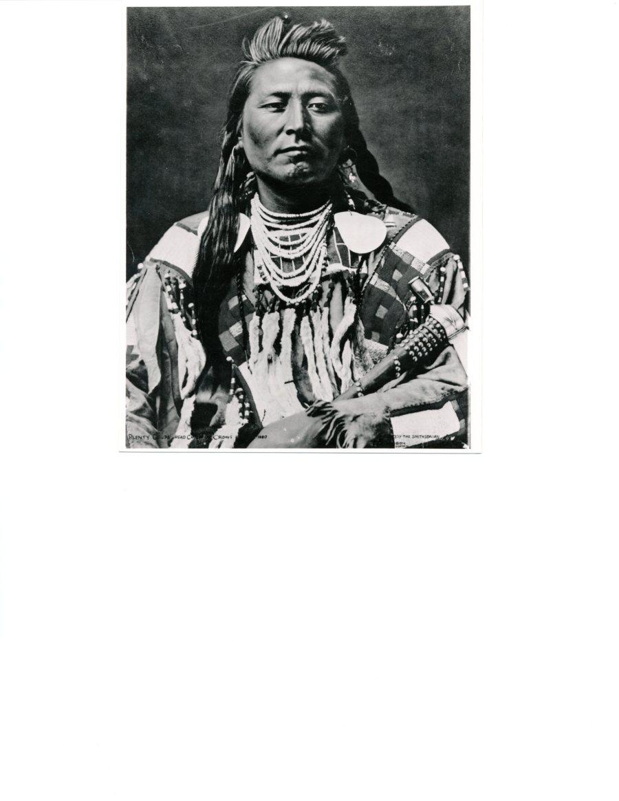 Crow Indian Chief Plenty Coup
